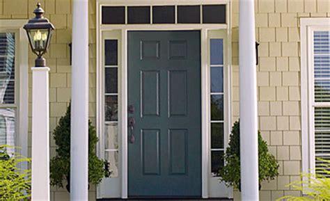secure exterior door secure therma tru metal exterior entry doors front doors house