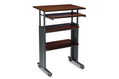 wired standing desk ditch your office chair for a new standing desk wired