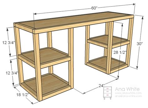 how to build a desk white build a parson tower desk free and easy diy
