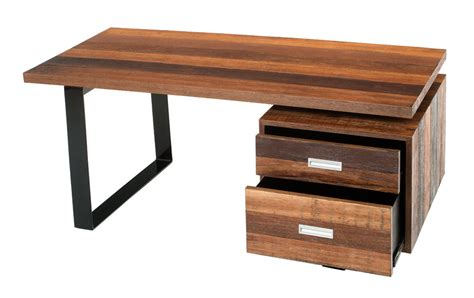 soft modern desk contemporary rustic desk reclaimed wood