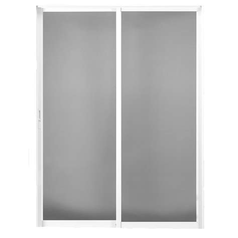 patio sliding glass doors lowes shop betterbilt 420 series 72 in clear glass aluminum sliding patio door with screen at lowes