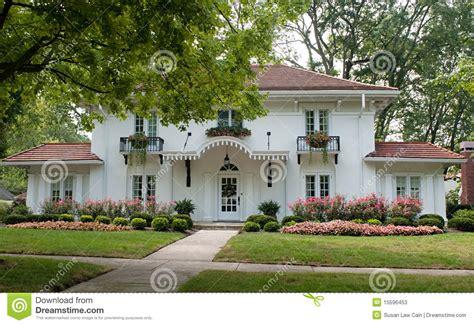 plantation style homes plantation style house stock photos image 15596453
