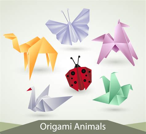 how to make 3d origami animals origami animals free vector graphic