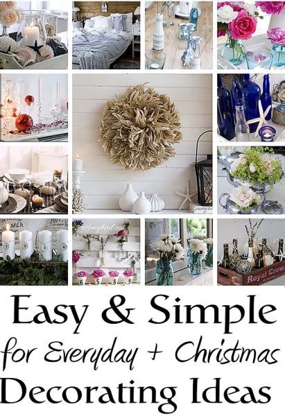 easy decoration easy and simple decorating ideas
