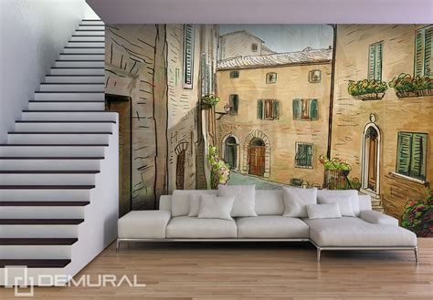living room wall murals a siesta in a living room streets wallpaper mural