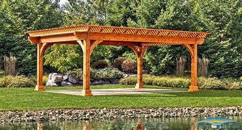 image of pergola pergolas for sale wood pergolas horizon structures