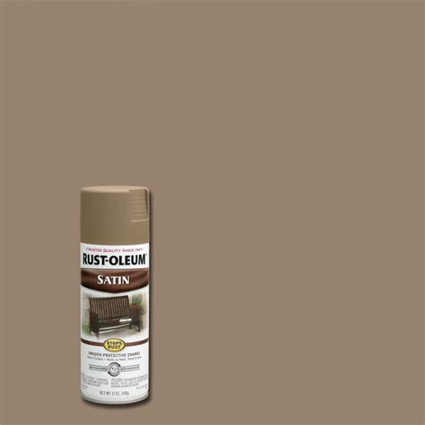 home depot rustoleum spray paint colors rust oleum stops rust 12 oz protective enamel satin