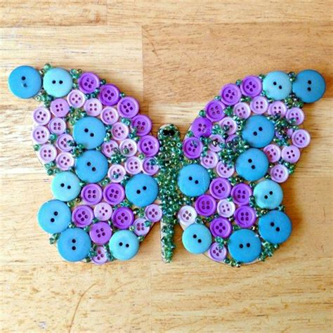 cool craft projects for 40 cool button craft projects for 2016 bored