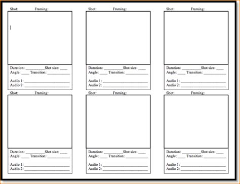 templates free 5 free storyboard templates teknoswitch