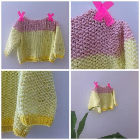 mod 232 le tricot b 233 b 233 le petit pull de la