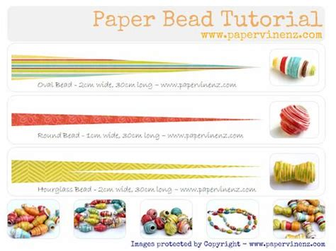 paper bead patterns paper bead tutorial jewelry free patterns