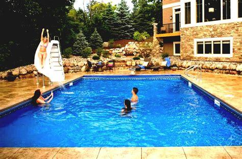 backyard pool slides home water slide for pool backyard design ideas
