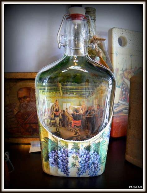how to decoupage glass decoupage on glass creatyve ideas