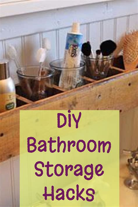 bathroom storage and organization diy bathroom storage and organization hacks involvery