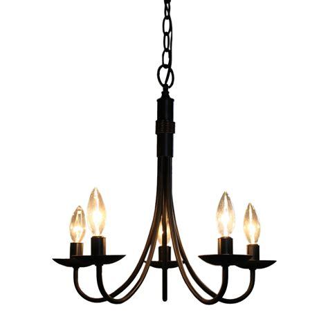 lowes mini chandelier artcraft lighting ac1785eb 5 light mini chandelier lowe
