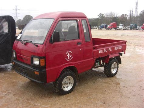 Daihatsu Mini Trucks by 1997 Daihatsu S80lp Jumbo Hijet Mini Truck