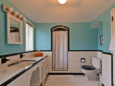 Bathroom Renovator by Black And White Tile Bathrooms Done 6 Different Ways