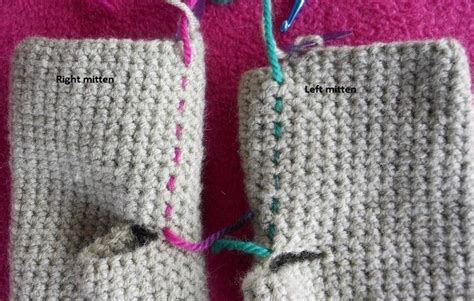 difference in crochet and knitting how to make simple mittens in single crochet 171 knitting