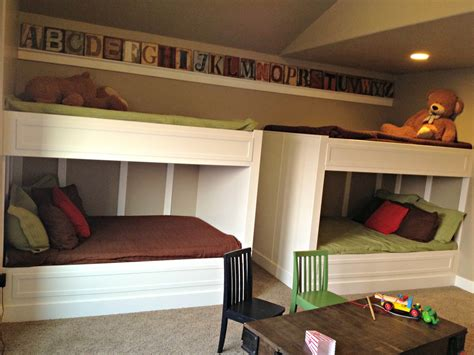 home built bunk beds of homes decorated quot boy quot bedrooms parade of homes