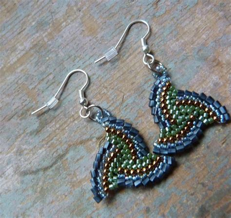 seed bead earrings free patterns free seed bead earring patterns just about be an