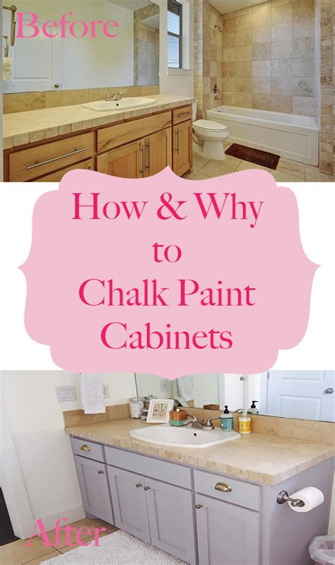 chalk paint vs for kitchen cabinets how why to chalk paint your bathroom or kitchen cabinets