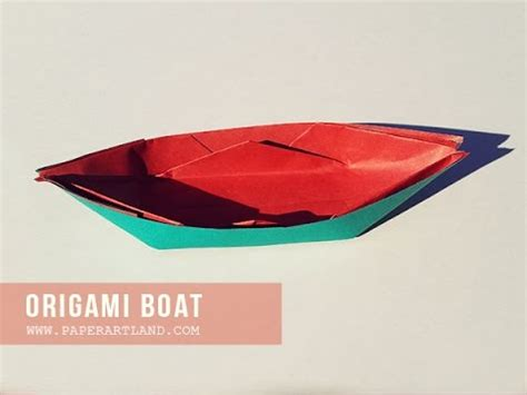 origami boat that floats origami for how to make an paper boat that floats on