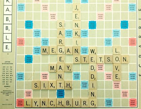 regulations of scrabble board 301 moved permanently