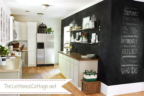 painting chalkboard kitchen paint wall black walls chalk board chalkboard paint