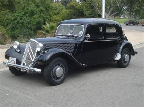 Citroen Traction Avant For Sale by 1953 Citroen Traction Avant For Sale Classic Car Ad From