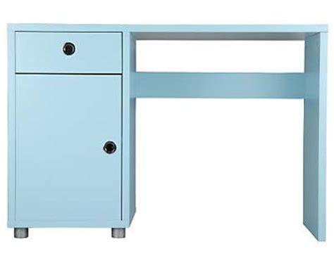 Drawing Interiors blue desks design milk