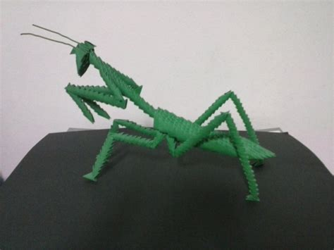 praying mantis origami 17 best images about 3d origami on