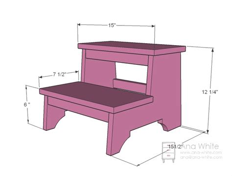 step stool woodworking plans 187 step stool plans pdf diy cagewoodplansdiy