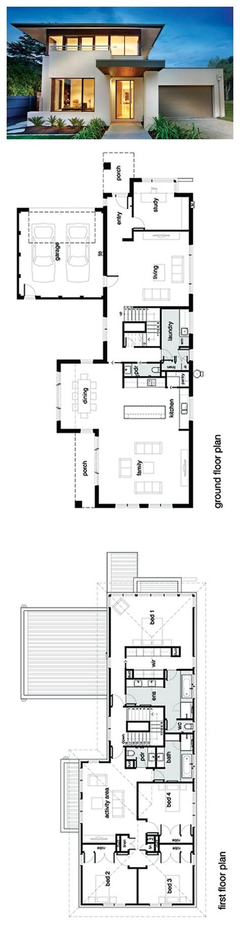 two storey residential building floor plan 4 storey residential building floor plan modern house