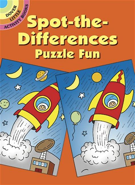 picture puzzle books spot the difference spot the differences puzzle dover activity