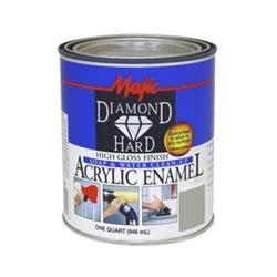 acrylic paint gloss finish majic diamondhard high gloss finish acrylic enamel quart