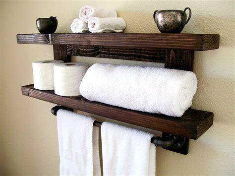 bathroom wall shelves wood floating shelves towel rack floating shelf wall shelf wood