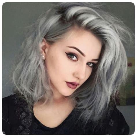 mid length grey hair bofmag com grey hair pinterest white hair hair 2016