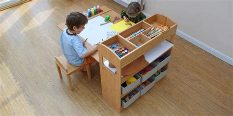 kid craft tables children s arts and crafts table and chairs finoak