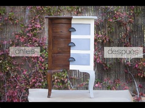 chalk paint sobre muebles ikea pintar un mueble con chalk paint en spray
