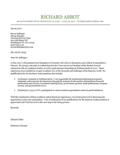 student cover letter example letter example cover