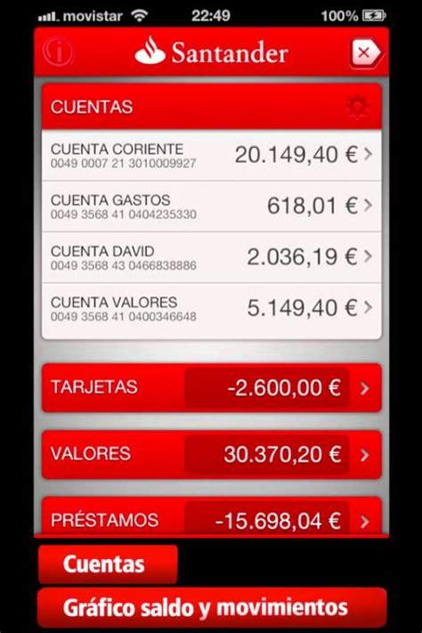 banca movil santander nueva aplicaci 243 n de banco santander para iphone demo