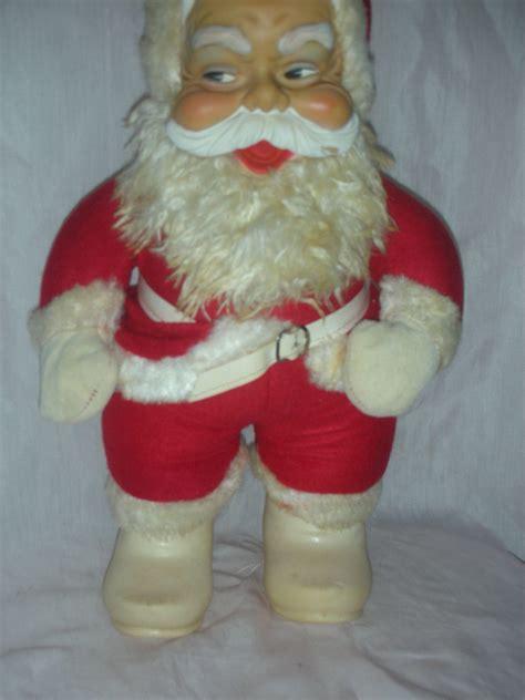 santa claus rubber sts vintage rushton rubber santa claus from