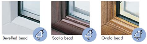 window bead windows bootle glass