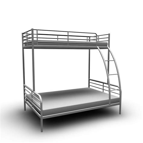 ikea bunk bed troms 214 bunk bed frame design and decorate your room in 3d