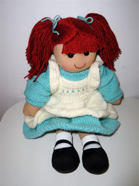 knitted rag doll patterns chiwaluv amigurumi critters cloth doll