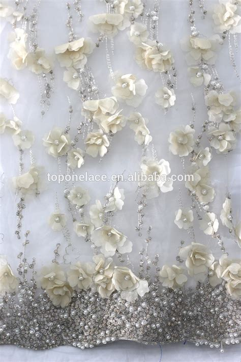 2016 Quality Alibaba Beaded Embroidery Lace