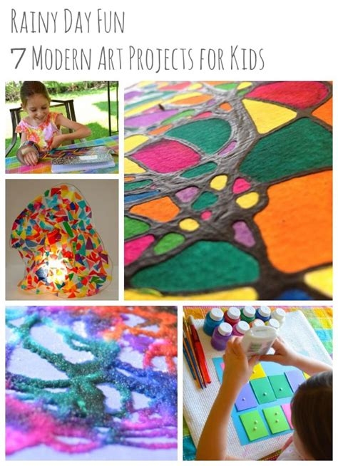 modern craft projects rainy day 7 modern projects for inner