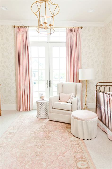 white and pink nursery curtains best 25 pink nurseries ideas on baby nursery