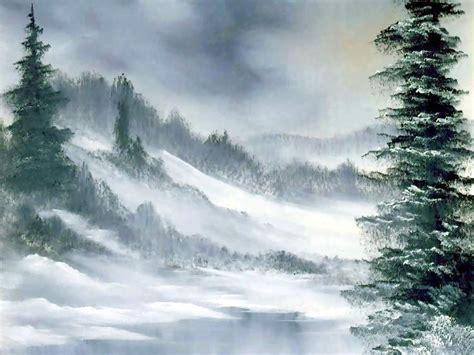 bob ross paintings winter bob ross bob ross painting bob ross