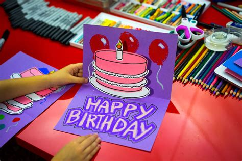 how to make a birthday card how to make a pop up birthday card for hub